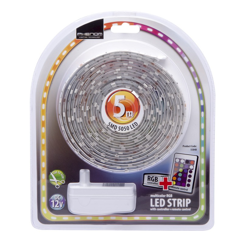 Sada RGB LED pásik 150LED/5m IP65
