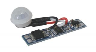 PIR spínač do LED profilu